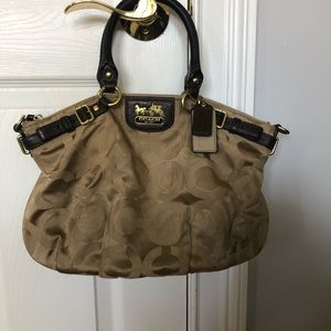 Gently used Coach pocketbook